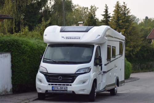 Hire a motorhome in Herrsching a. Ammersee from private owners| Mobilvetta  Gonzo2