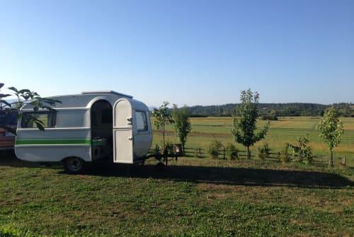 Hire a motorhome in München from private owners| QEK Der kleine QEKI
