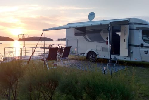 Hire a motorhome in Hamm from private owners| Carado  Unser WoMo