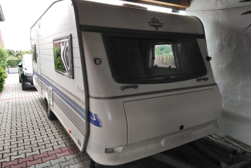Hire a motorhome in Dietenhofen from private owners  Hobby  Dicker Bär