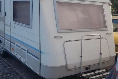 Hire a motorhome in Dresden from private owners  Knaus Knaus Azur