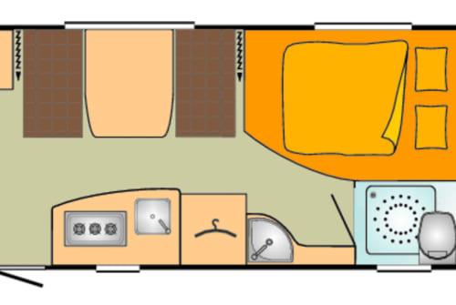 Hire a motorhome in Pfaffing from private owners| Bürstner Bürstner 495tk