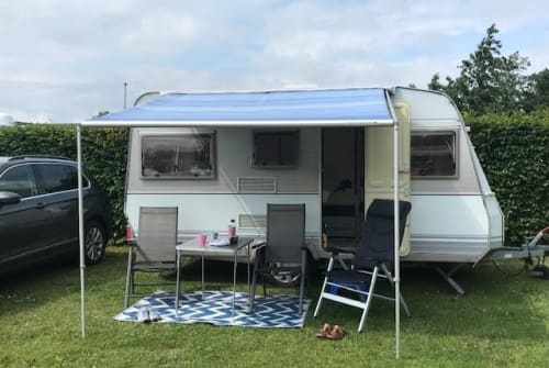 Hire a motorhome in Niebüll from private owners  Dethleffs CampingKoje