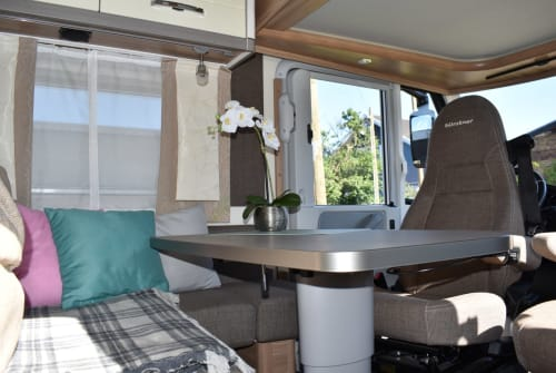 Hire a motorhome in Luckenwalde from private owners| Bürstner Wohlfühloase!