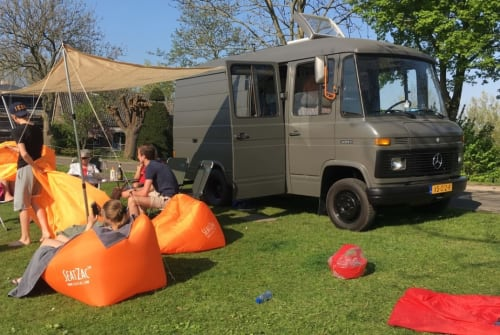 Hire a motorhome in Amstelveen from private owners  Mercedes Benz Camper Ton