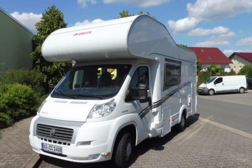 Hire a motorhome in Graben-Neudorf from private owners  Dethleffs Sonnenschein