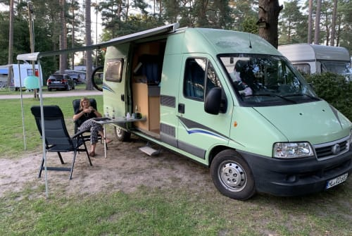 Hire a motorhome in Lübeck from private owners| Pössl Töffi