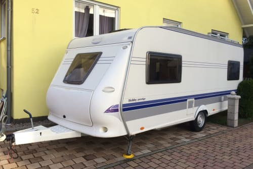 Hire a motorhome in Speyer from private owners| Hobby Domspatz