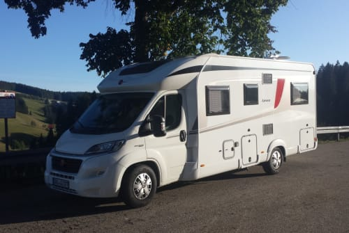 Hire a motorhome in Titz from private owners| Bürstner Bürste