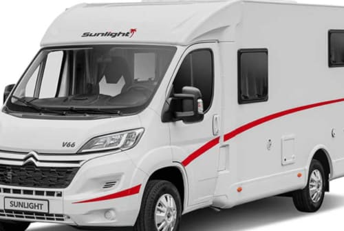 Hire a motorhome in Böblingen from private owners| Sunlight  V 66