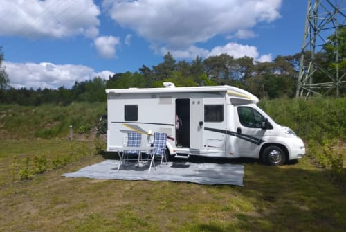 Hire a motorhome in Wattenbek from private owners  Fiat  Sunny