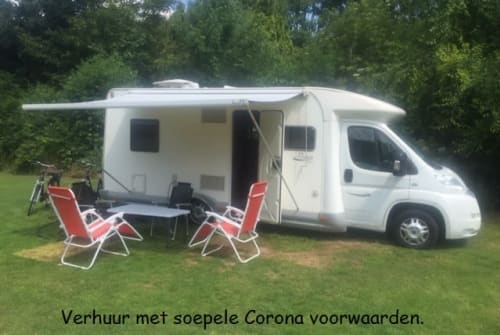 Hire a motorhome in Valkenswaard from private owners| Elnagh  Elnagh Baron