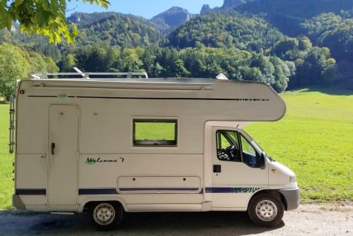 Hire a motorhome in Aschau im Chiemgau from private owners  FIAT DUCATO GLÜCKSMOBIL
