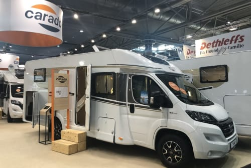 Hire a motorhome in Magdeburg from private owners  Carado  Sunny BJ2020