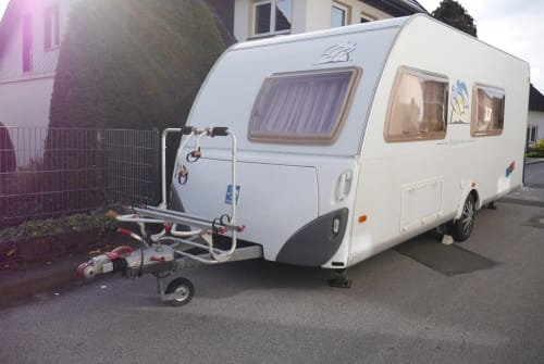 Hire a motorhome in Wickede from private owners| Knaus Moving Rubby