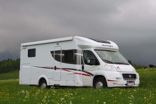 Hire a motorhome in Belgershain from private owners| Fiat Luigi