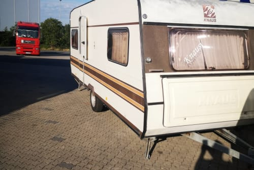 Hire a motorhome in Zernien from private owners  Knaus  Knausi