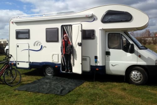 Hire a motorhome in Witzenhausen from private owners  Fiat Ducato 2,8 JTD Power Uwe`s Luigi
