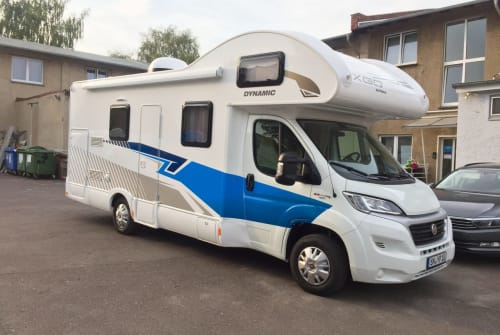Hire a motorhome in Schwerin from private owners| XGO Fiat Ducato Multijet Dynamic 39