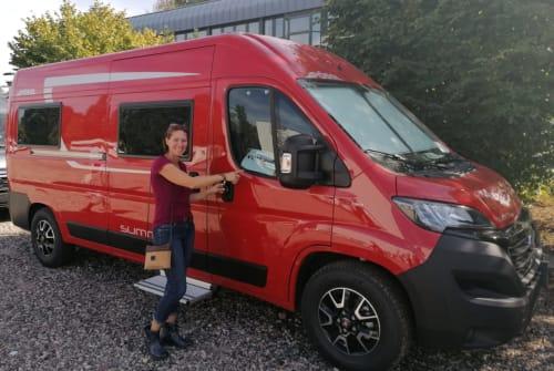 Hire a motorhome in Nauheim from private owners| Pössl Grisu