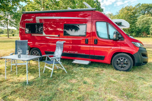 Hire a motorhome in Nauheim from private owners| Pössl Grisu
