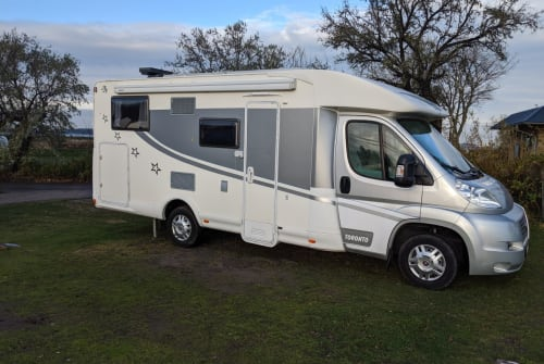 Hire a motorhome in Ladenburg from private owners  Fiat Ducato Neckarcamper
