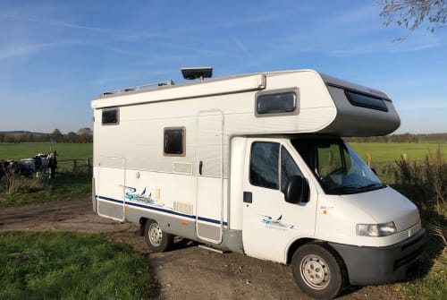 Hire a motorhome in Aukrug from private owners  Dethleffs Esprit Familienglück