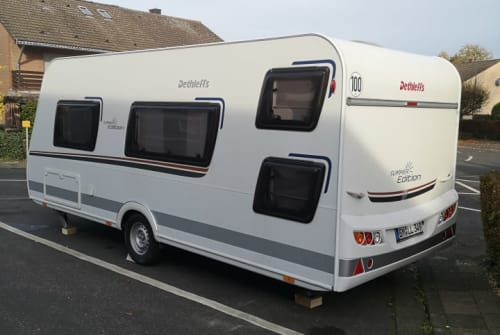 Hire a motorhome in Bergheim from private owners| Dethleffs Nepomuk