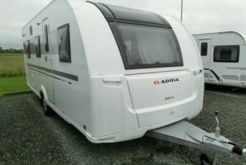 Hire a motorhome in Boostedt from private owners  Adria Dörflers Wohni
