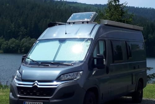 Hire a motorhome in Leoben from private owners| Pössl P2Win+
