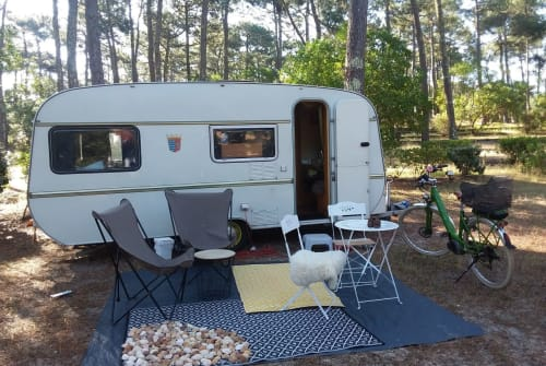 Hire a motorhome in Schriesheim from private owners  Tabbert Wilma Woodstock