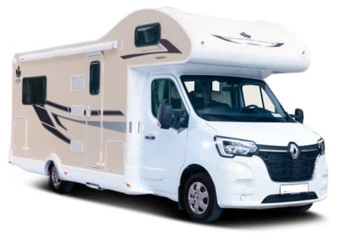 Hire a motorhome in Grünstadt from private owners| Ahorn Canada Lux