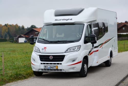 Hire a motorhome in Bernau am Chiemsee from private owners  Sunlight ChiemseeSonne