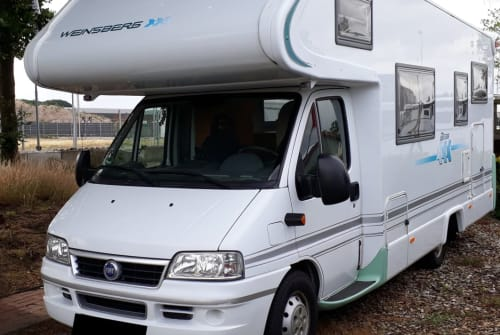 Hire a motorhome in Cappeln from private owners| Fiat X244 Weinsberg WoMo