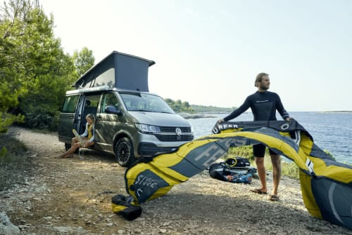 Hire a motorhome in Hamburg from private owners  VW Natan