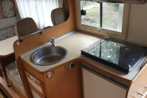 Hire a motorhome in Hohne from private owners| Fiat Ducato Trigano Trigano white