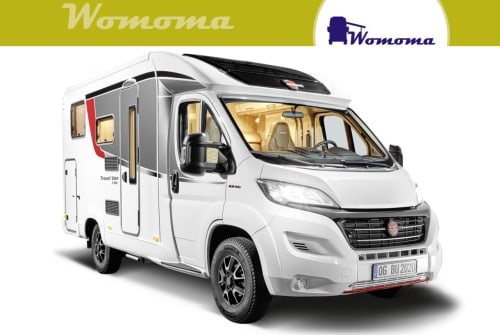 Hire a motorhome in Wolmirstedt from private owners| Bürstner Travel VanT590G