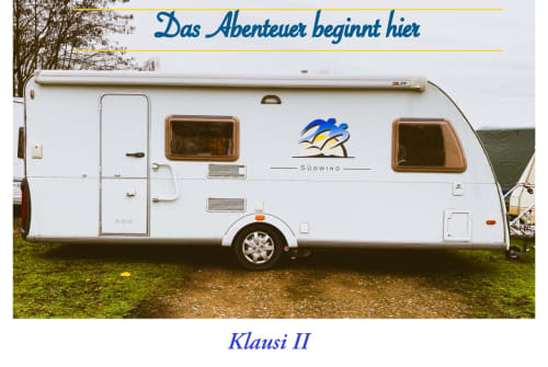 Hire a motorhome in Berlin from private owners| Knaus Klausi II