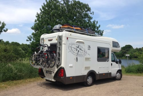 Hire a motorhome in Greifswald from private owners  Knaus Knausi