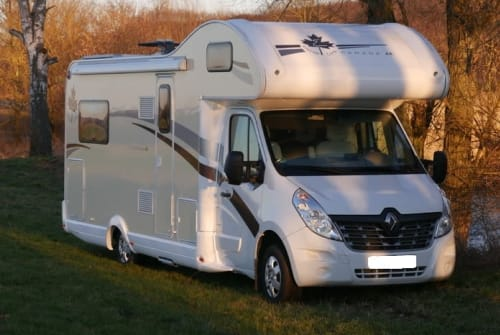 Hire a motorhome in Melsungen from private owners| Ahorn PowerWomo 170PS