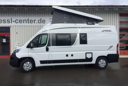 Hire a motorhome in Sindelfingen from private owners| Pössel Kastenwagen-Juv