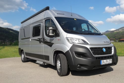 Hire a motorhome in Oberstaufen from private owners| Knaus Marienkäfer II
