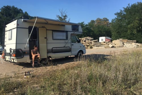 Hire a motorhome in Weil am Rhein from private owners| Bürstner Iveco Walter