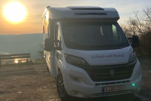 Hire a motorhome in Leipzig from private owners  Hobby Hunde-Mobil