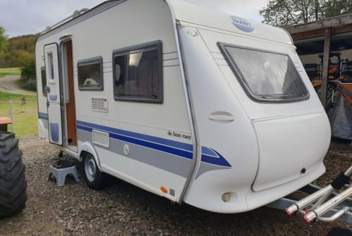 Hire a motorhome in Dietzenrode from private owners  Hobby 450 UF Holly