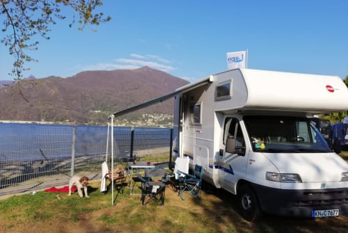 Hire a motorhome in Steißlingen from private owners| Fiat Hannes