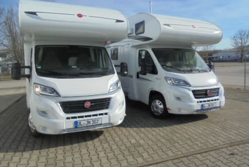 Hire a motorhome in Dietenheim from private owners| Bürstner / Fiat Dukato NIWIMOBIL 02