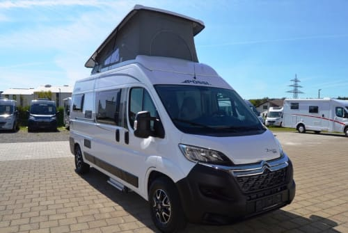 Hire a motorhome in Inning am Ammersee from private owners| Pössl Nanni  Pössl