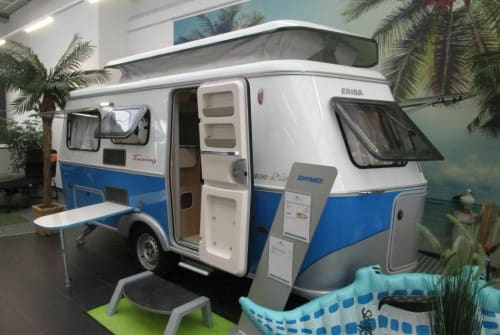 Hire a motorhome in Bocholt from private owners| Hymer Eriba Henri