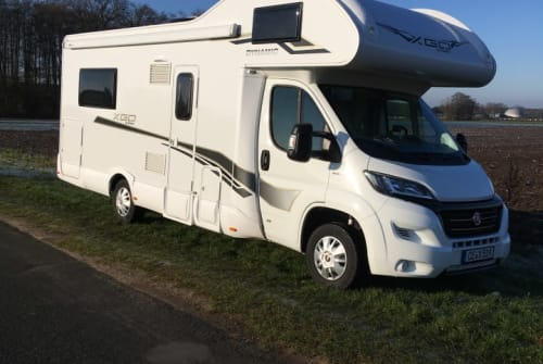 Hire a motorhome in Celle from private owners| XGO - Fiat Ducato 35 Multijet Erwin